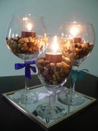 glass, wine, centerpiece