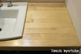 making wood countertop easy wood from flooring building wood countertops diy wood countertops