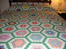 Vintage Flower Garden Quilt | Quilts...Stitched with Love Art ... & Vintage Flower Garden Quilt Adamdwight.com