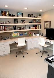 home office designs for two. Two Person Desk Design For Your Wonderful Home Office Area In 2018 | A  Place Of Our Own Pinterest Furniture Placement, Designs And Shelves Home Office Two