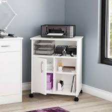 ... Stunning Desk With Printer Shelf Printer Stand Ikea White Wooden Desk  Printer Eraphone Rug ...