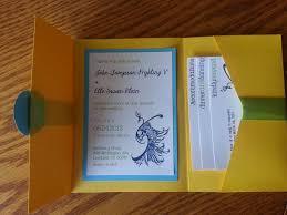 Wedding Invitation Folding Novel Concept Designs Peacock Pocket Fold Wedding Invitation Kit