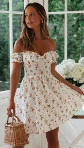 2020Spring Summer <b>Dress Floral Sexy Dresses Woman</b> Vestido Off ...