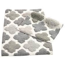 chesapeake merchandising alloy moroccan tiles grey 21 in x 34 in 2 piece