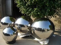 Stainless Steel Decorative Balls stainless steel ball for gardenfountainssculpture decorative 3