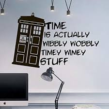 wall decal doctor who tardis e time travels mural sticker decor art police box gift dorm