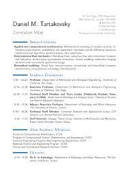 Sample Resume Science Research Template Bioinformatics Resume