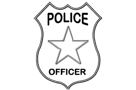 Small Picture Police Badge Coloring Page Barriee