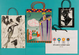 Art Bag Nyc Eighth Super Cool Exhibition Of Shopping Bags Newark Public Library