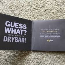 other hot mama drybar out gift certificate