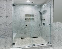 essence frameless sliding shower door