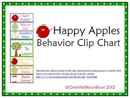 Clip Chart Behavior Management System Happy Apples Behavior Clip Chart Behavior Clip Charts