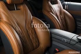luxury car interior seats. Plain Interior Modern Luxury Car Inside Interior Of Prestige Modern Car Comfortable  Leather Seats Orange For Car Seats R