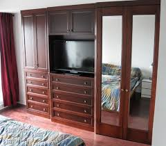 2 Bedroom Walk-In Reach-In Closet Wardrobe Furniture Armoire Wall Unit  Cabinet Storage