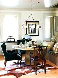 what size rug under dining table rug under coffee table how to place a rug with