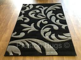 black and white damask area rug rugs grey yellow stunning decor