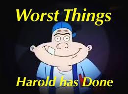 Top 7 Worst things Harold Berman has ever done | Cartoon Amino