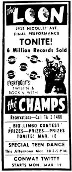 Significant historical events, famous quotes and celebrity birthdays. Today In Minnesota Music History March On This Day In Minnesota Music History March 12 17 1962 The Loon 2935 Nicollet Mpls Mn The Champs The Loon Club In April 1961