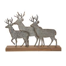 <b>Metal Reindeer</b> Decorations | Wayfair