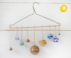 Mobile Coat Racks Adorable Diy Solar System Model Beautiful Coat Hanger Solar System Mobile