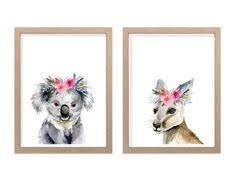 Australian Animal Print, Nursery Animal Print, Nursery Animals ...