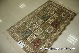 size 3x5 handmade persian silk rug 1