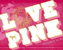victoria secret pink logos