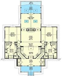 fabulous one story house plans with two master suites 44 best dual master suites house plans images on home