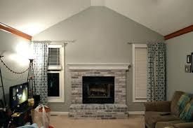 whitewash exterior brick lime washing brick exterior whitewashing brick with gray paint chalk paint wooden fireplace