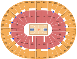 Lawrence Joel Memorial Coliseum Seating Chart Winston Salem