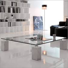 rectangular coffee table with marble