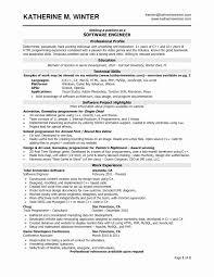 Qtp Sample Resume For Software Testers Elegant Software Testing