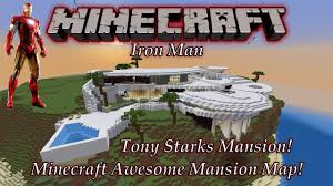 minecraft tony starks mansion map pc