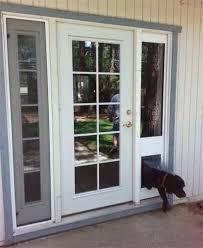 patio door dog door the glass guru sliding door dog door insert bunnings