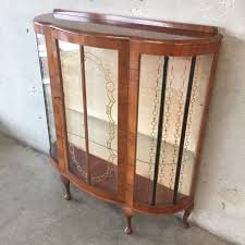 curio cabinets antique curved glass f54 for simple home decoration ideas designing with curio cabinets antique