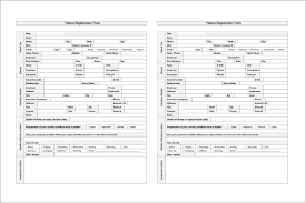 Clinical Chart 9 Patient Chart Templates Free Sample Example Format