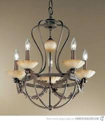 wrought iron chandeliers chandelier fascinating rustic farmhouse round brown with candle and white
