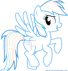 Rainbow Dash Coloring Pages Rainbow Dash Coloring Pages Free