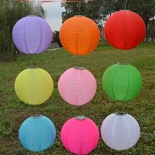 New 10u0027 Outdoor Party Wedding Solar Light Chinese Lantern Chinese Lantern Solar Lights