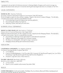 Paralegal Resume Fascinating Litigation Paralegal Resume Template Sample Certificate Real Estate