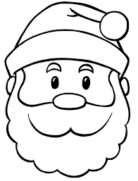 Small Picture coloring pages santa face best face santa claus coloring pages