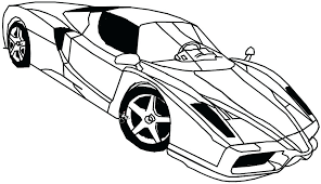 Ferrari 458 Coloring Pages Spider Colouring Italia Page Car Awesome