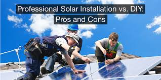 you ve evaluated the benefits of solar power and you re ready to purchase panels for your home but do you pay for professional installation or go the diy