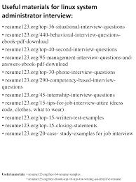 Network And Computer Systems Administrator Sample Resume Inspiration Linux System Administrator Resume Admin Resume System Administrator