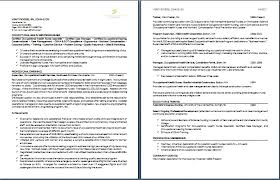 Two Page Resume Sample 5 Gorgeous Design 14 Techtrontechnologies Com