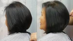 Bob Hair Cut Tutorial ตดผมบอบ ทย ทย จากผมบาง Best