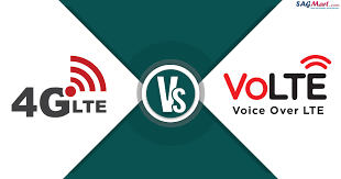 Lte Vs 4g Difference Between Volte And 4g 3g Lte A Sagmart
