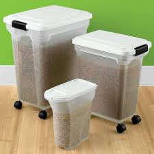 View Larger. Best 25 Dog Food Storage Container 35 Bins For Food, Cans SimpleHouseware Stackable