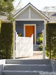 Orange front door Ideas House Beautiful 25 Best Front Door Paint Colors Paint Ideas For Front Doors