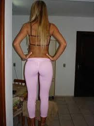Horney teens in leggings